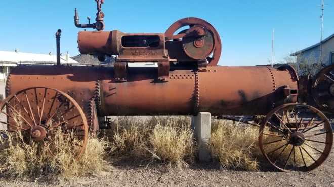 Castolon Historic District - Boiler