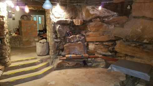 La Kiva Underground Bar and Restaurant Entryway