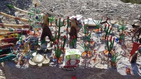 Makeshift Gift Shop At Boquillas Canyon