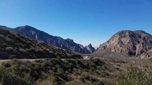 Mountain Drive Big Bend - Chisos Basin During Government Shutdown