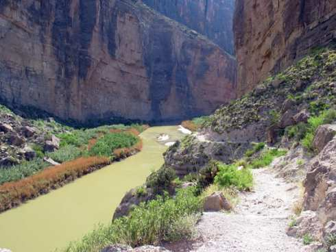 USA Santa Elena Canyon TX 5