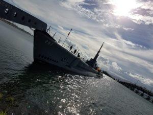 Pearl Harbor Bowfin Submarine Battleship