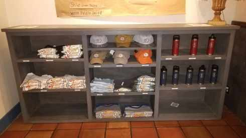 Brick Vault Brewery and BBQ merchandise