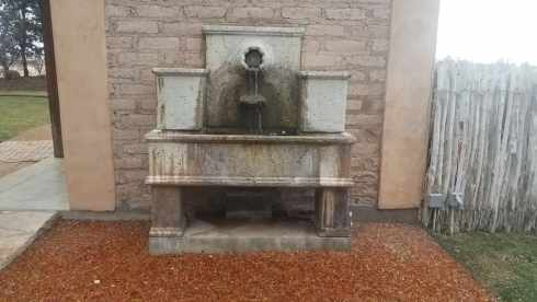 Old Fountain At Gage Gardens