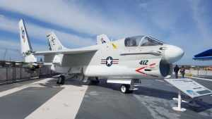 A 7B Corsair II USS Lexington