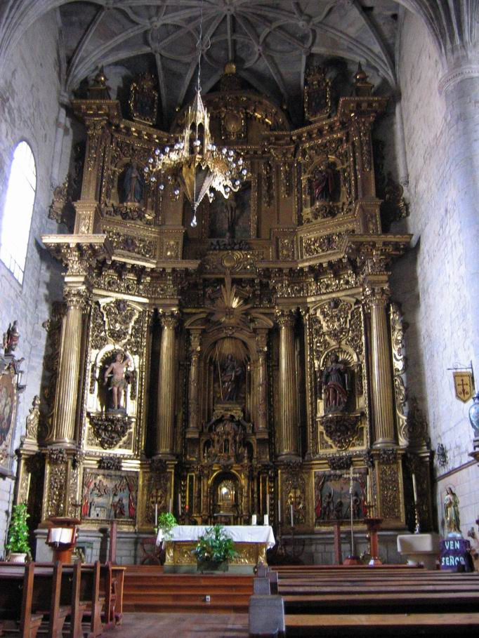 Iglesia de Santiago (Retablo)