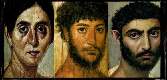 Peinture du Fayoum - Du 1er au 4ème siècle après J.C