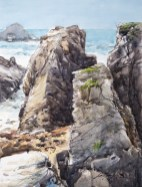 Morbihan, côte sauvage. Port Bara.