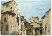 Vaucluse - Caromb, rue des Tournoches.