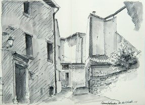 Vaucluse - Caromb, rue des Eybarts.