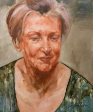 Portrait de Sylvette (huile sur toile 54x65 cm)