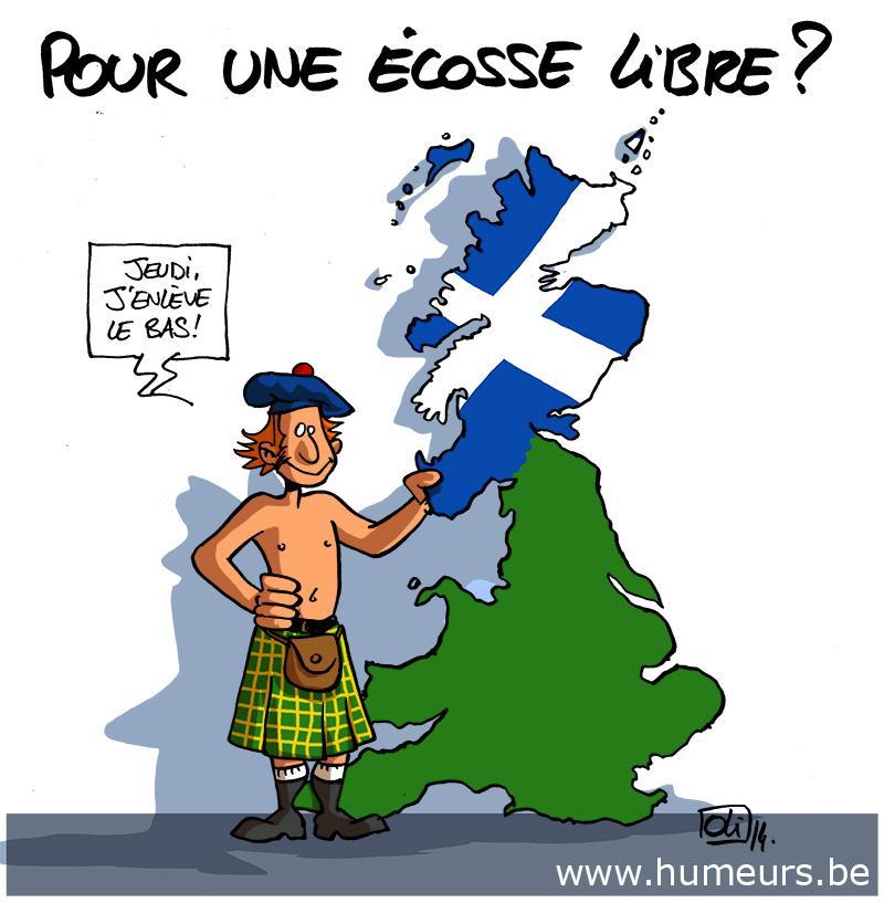 """Résultat de recherche d'images pour """"L'Ecosse indépendance caricature"""""""