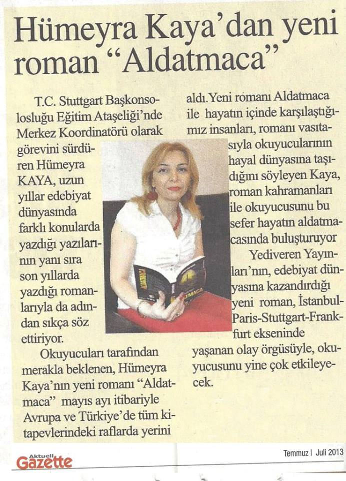 Aktuell Gazete Temmuz 2013