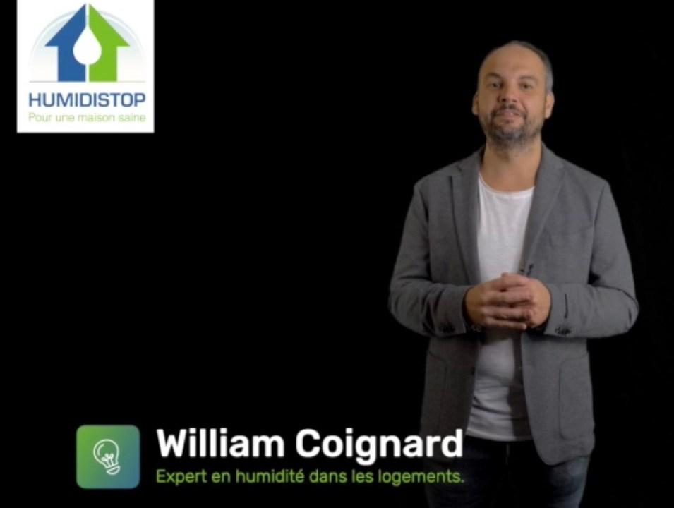 William COIGNARD Expert en humidité dans les logements