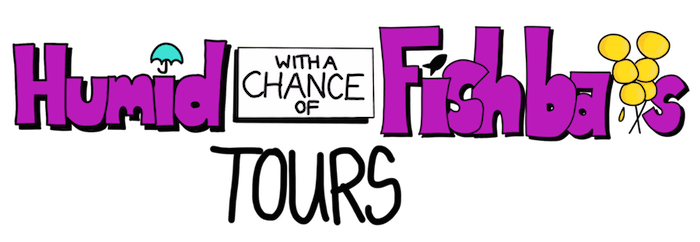 Humid with a Chance of Fishballs Tours Logo