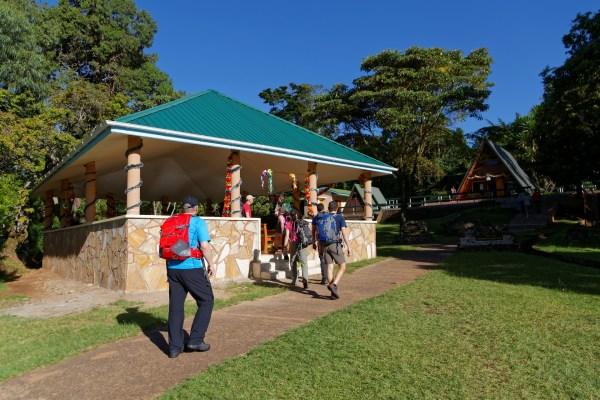 Ankunft beim Kili-Nationalpark Hauptquartier