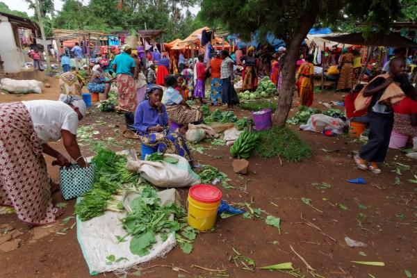 Einkaufsbummel in Marangu