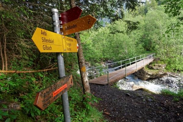 Beschauliche Szenerie entlang des Allebachs