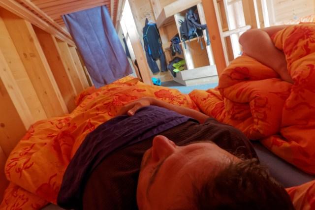 Einzuschlafen fällt bei soviel Licht schwer