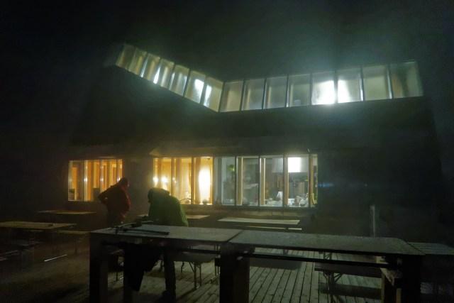 Aufbruchstimmung in der Monte-Rosa-Hütte