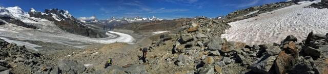 Bis zur Hütte fehlen jetzt nur noch 300 Höhenmeter, welche...
