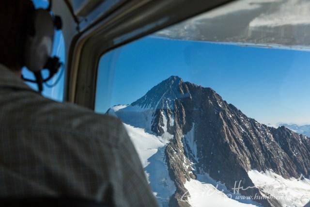 Der Gipfel des Finsteraarhorns