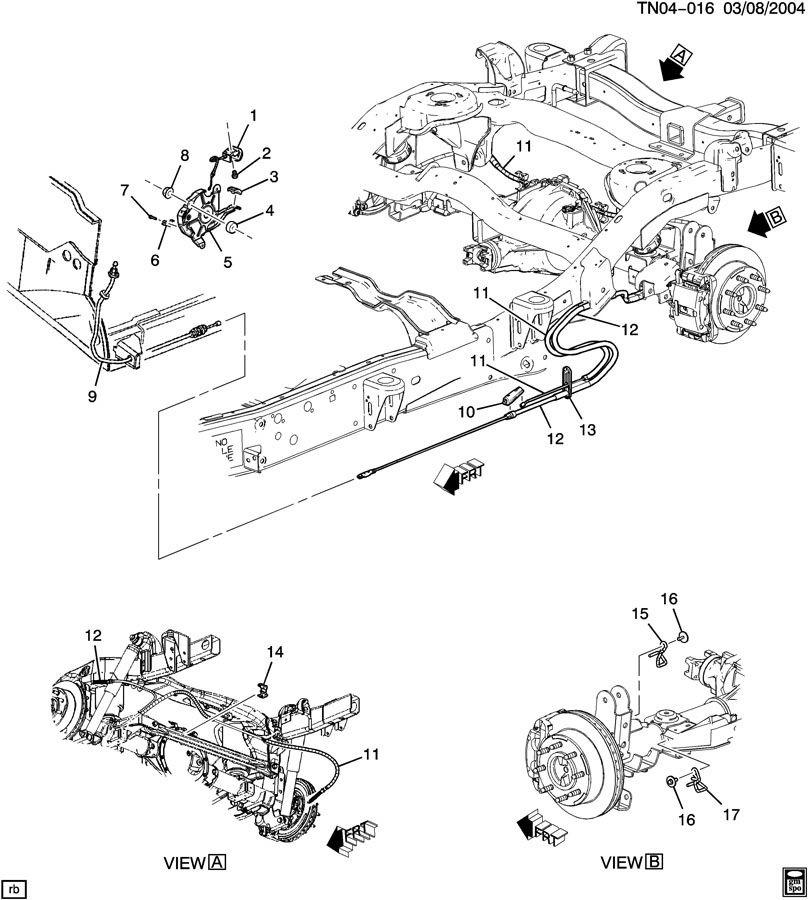 2003 Hummer H2 Brake Line Diagram