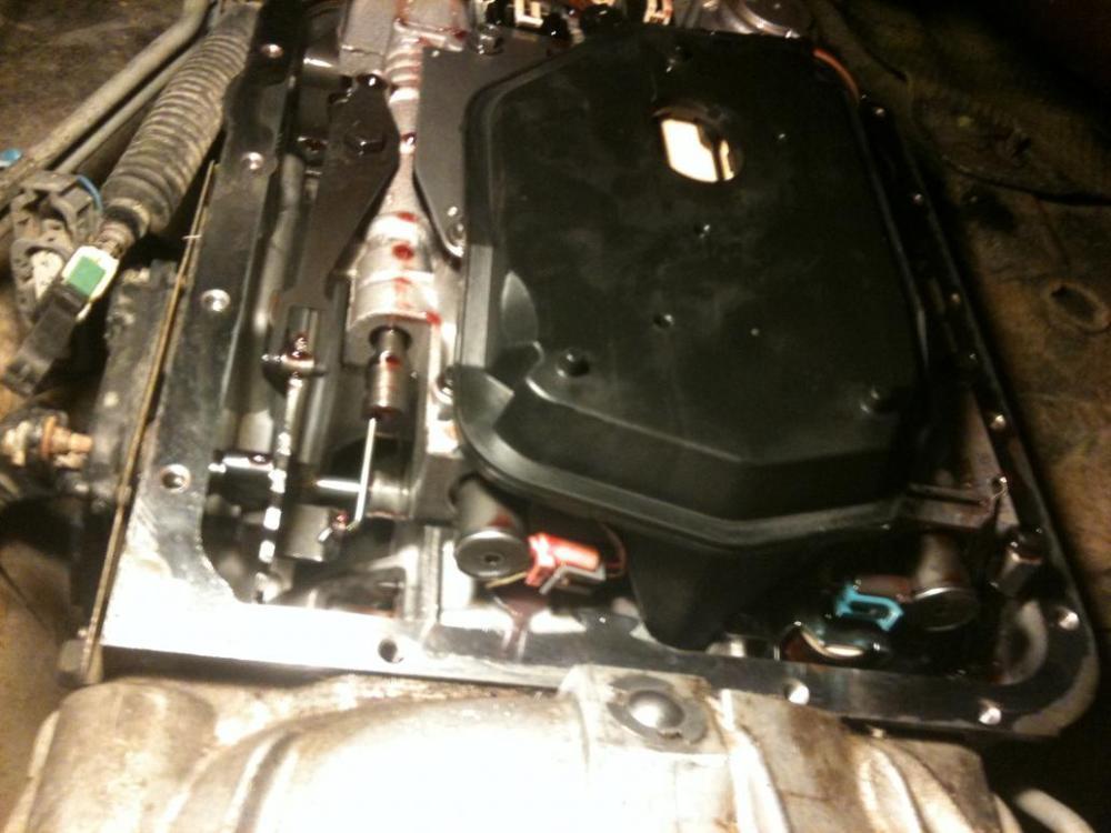 medium resolution of  transmission fluid change with some pics photo4 jpg