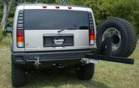 Spare tire swingaway - Hummer Forums - Enthusiast Forum ...