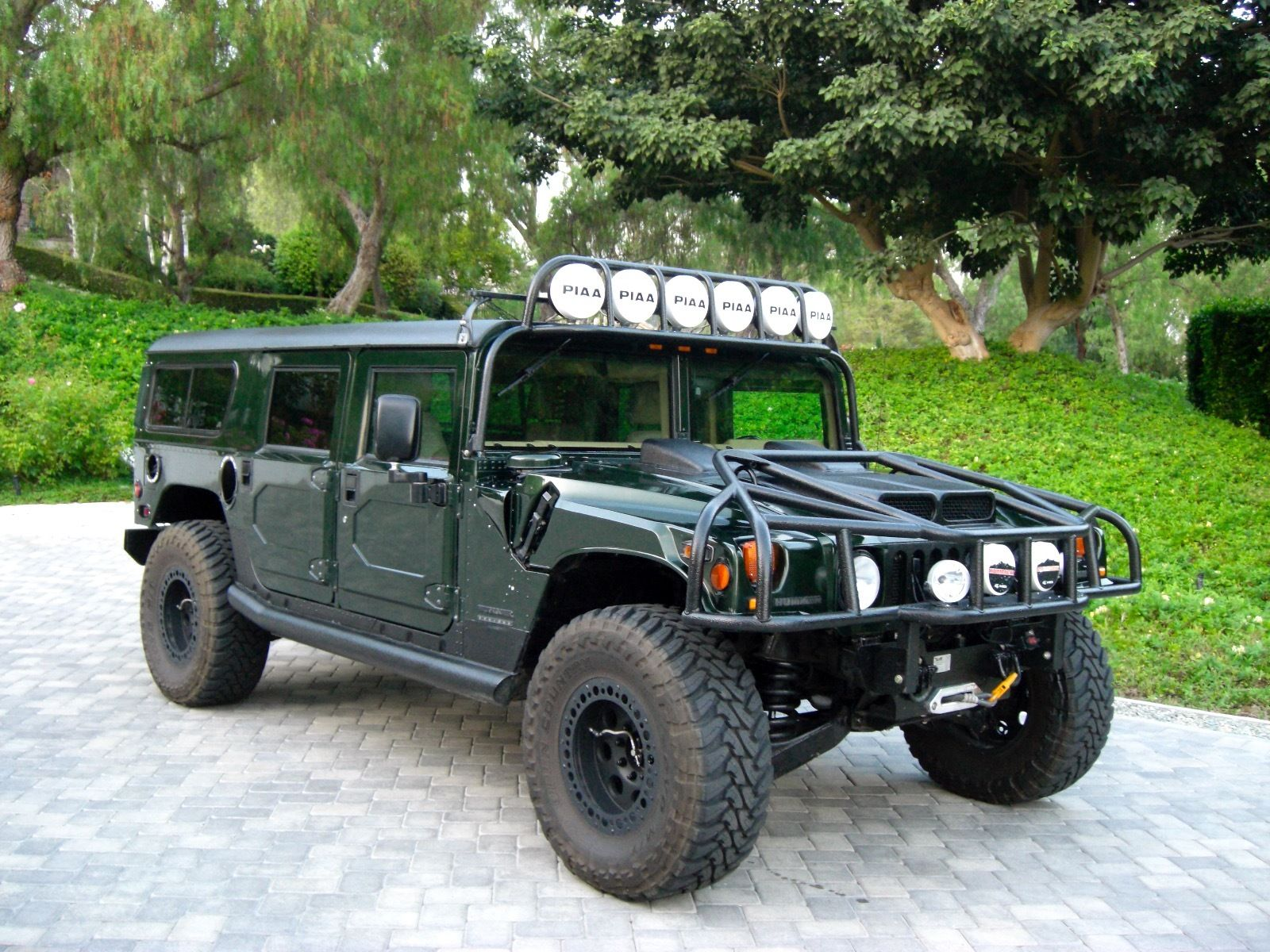 2000 Hummer H1 For Sale Green Tan Leather Hummer Forums