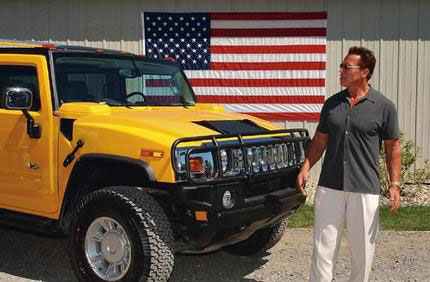 Schwarzenegger To Give Up His Hummers Hummer Guy