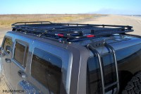 H3 Roof Rack Pictures to Pin on Pinterest