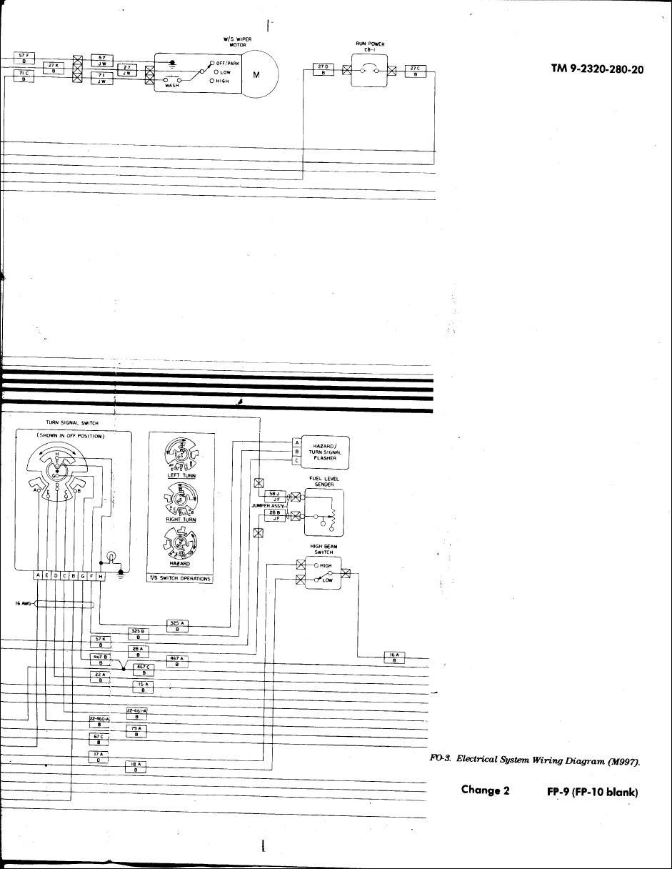 military turn signal switch wiring diagram