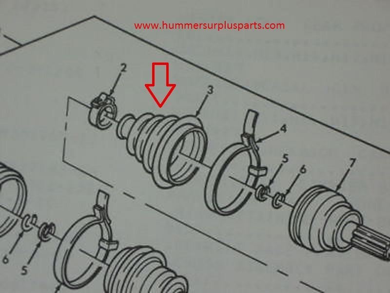 am general hmmwv 5705605 humvee dust boot kit 4-way switch wiring diagram am general hmmwv 5705605 humvee dust boot kit new