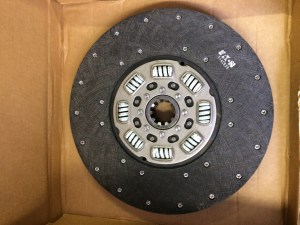 Semi Eaton Clutch Disc 128343 14 Inch Pot 1.75 Organic 2530-01-081-7500