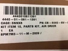 HEMTT M-915 Filter Drier Recharge Kit CS-4440-SV-0706 286718 4440-01-081-1391