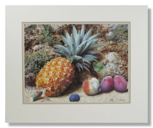 John Sherrin – Still Life with Fruit and Pineapple