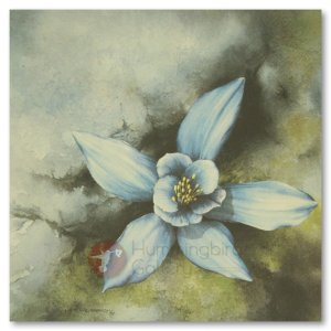 Hummingbird Gallery Les-Weisbrich-Limestone-Columbine-Aquilegia-Jonesii-1-Image Les Weisbrich <p>Flower Series<p>Limited Editions Currently Available