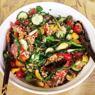 Farro and Tomato Salad with Fish Sauce Vinaigrette