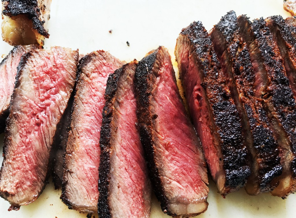 Coffee-Rubbed NY strip 4