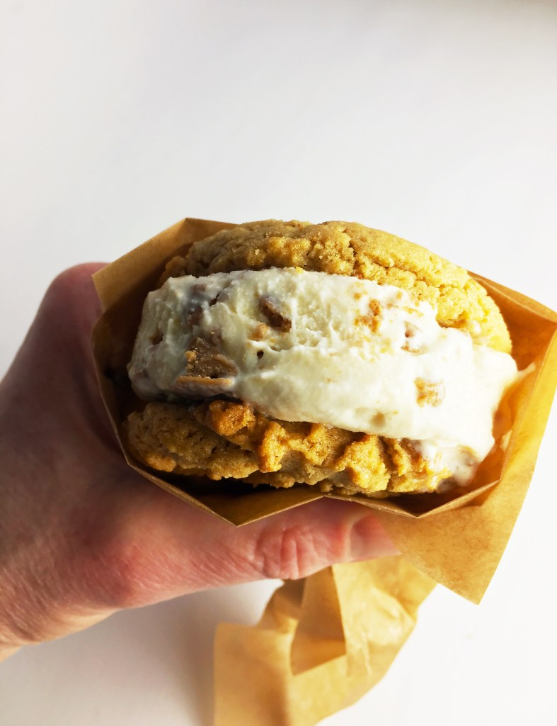 PB Ice Cream Sandwich