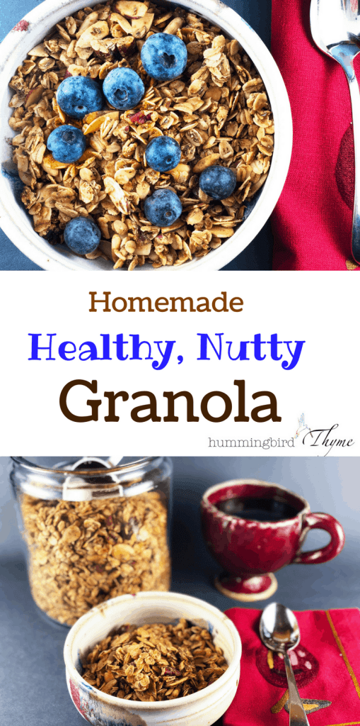 Healthy Homemade Nutty Granola