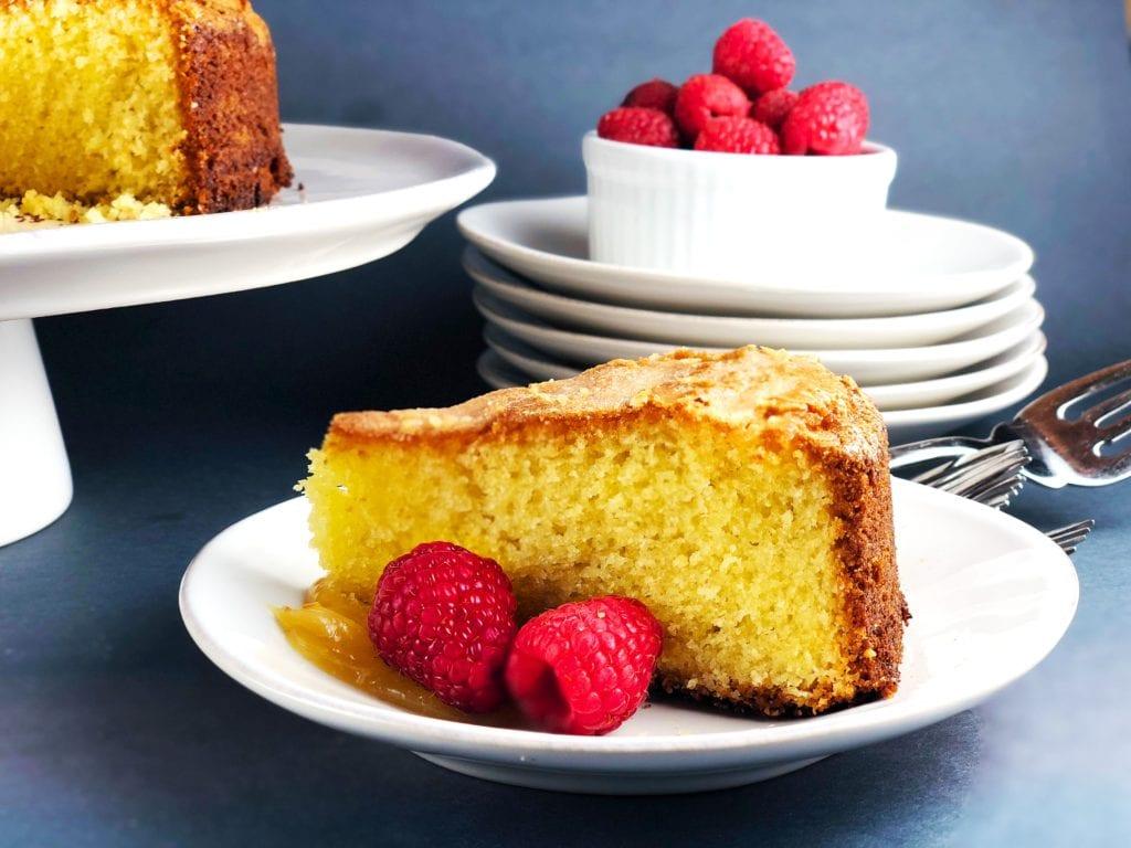 Lemon And Thyme Cake Hummingbird