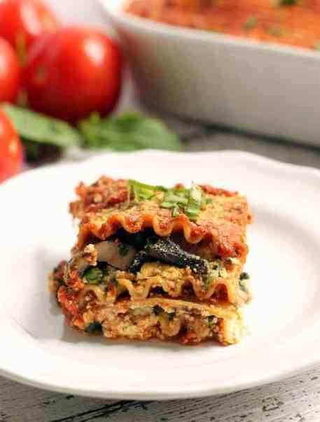 The BEST vegan lasagna! You