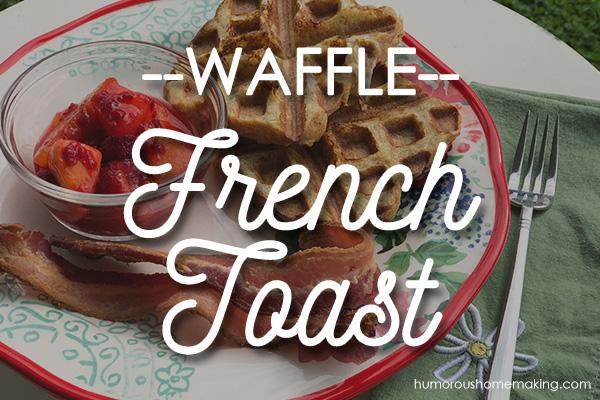 waffle french toast