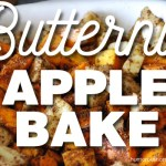 butternut apple bake