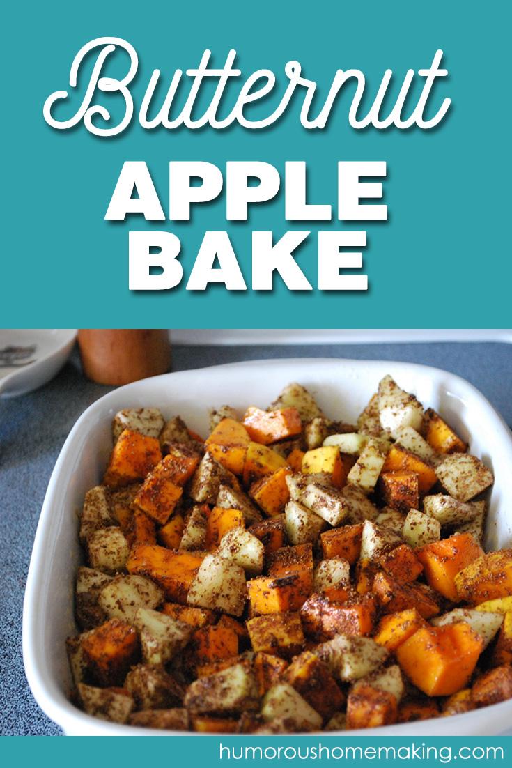 butternut apple bake