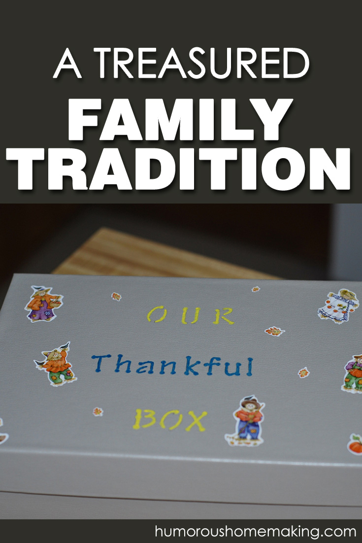 our thankful box