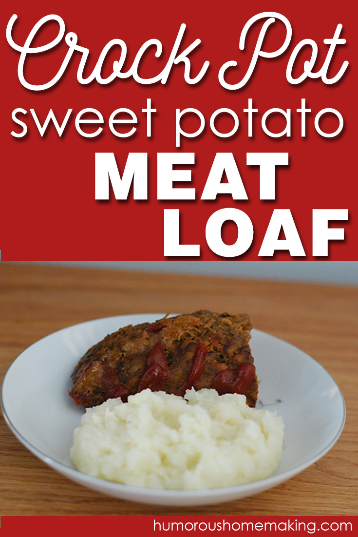 I love all kinds of meatloaves, but this Crockpot Sweet Potato Meatloaf may be my most favorite one yet! The sweet potato makes it so moist and yummy!