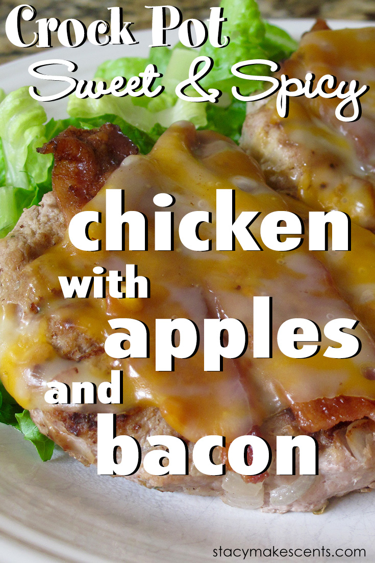 Apple season is here again! Change it up in your kitchen with these dinner ideas using apples - plus a recipe for Crock Pot Sweet and Spicy Chicken with Bacon and Apples.